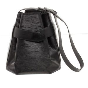Louis Vuitton Black Epi Leather Sac Shoulder Bag